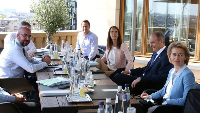 EU leaders say progress in virus recovery summit, but warn talks could still fail