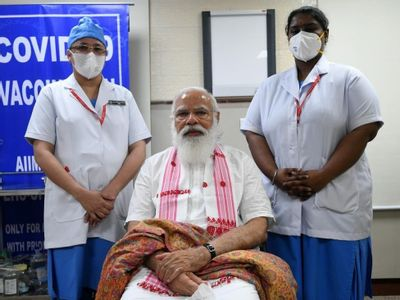 PM Modi kicks off third phase of vaccination, takes first jab of Covaxin
